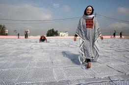 صور:  الفلسطينيون يحتفلون بيوم الكوفية