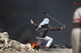 قوات الاحتلال تقمع مسيرة بمناسبة يوم الارض في كفر قدوم