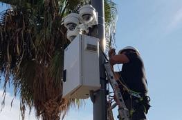 الاحتلال ينصب كاميرات مراقبة على مدخل يطا
