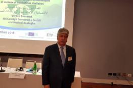 مجدلاني: السلام بالشرق الأوسط يتطلب دوراً أوروبياً متوازياً مع دوره الاقتصادي