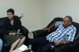 غورين تبحث مع لجنة المتابعة المركزية للجان الشعبية اوضاع اللاجئين في المخيمات اللبنانية