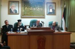 الزعنون خلال اجتماع لأعضاء المجلس الوطني في الأردن- أهل القدس ينتظرون الدعم الفعَلي من أمتهم العربية