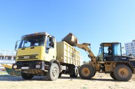 بلدية غزة تدعو لإخراج النفايات مبكرا وقبل الساعة 7 صباحا