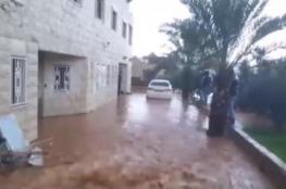 فيضانات تضرب مدن وقرى بمنطقة الجليل وتغرق منازل