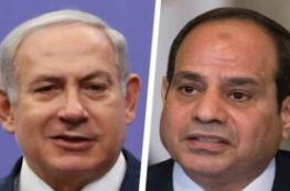 القناة الإسرائيلية العاشرة: لقاء سري جمع نتنياهو والسيسي في أيار حول غزة