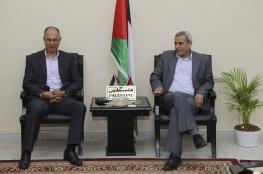 قلقيلية : المحافظ يلتقي سفير فلسطين في تركيا