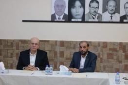 إجتماع مركزي مشترك لقيادتي الجبهة الديمقراطية وحركة حماس في بيروت