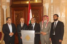الوفد البرلماني يلتقي رئيس الحكومة اللبنانية سعد الحريري ووعود بتحسين أوضاع اللاجئين