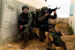 فيديو وصور : مناورات لوحدة الكلاب في جيش الاحتلال استعدادا للحرب