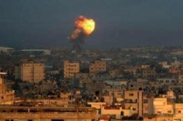الاحتلال: سلاح الجو قصف 20 هدفاً في قطاع غزة من ضمنها تم استهداف نفق