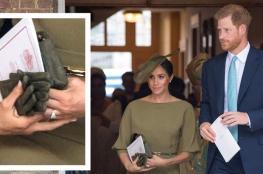 لماذا تحمل ميغان ماركل قفّازاتها ولا ترتديها؟