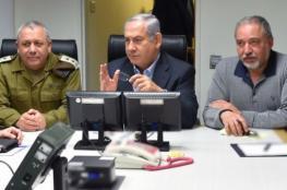 كواليس اجتماع (الكابينت)..نتنياهو منع ليبرمان من إعلان الحرب على غزة