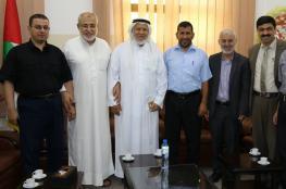 نواب محافظة غزة يناقشون قضايا هامة مع وكيل وزارة التربية والتعليم