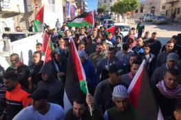 إصابة مواطن برصاص مستوطن في الجلزون ومسيرات بالضفة تنديدا بالاعتداءات الإسرائيلية