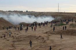 في الجمعة الـ 37 لمسيرة العودة وكسر الحصار: الاحتلال يصيب 72 مدنيًّا منهم 11 طفلاً وامرأة ومُسعفين
