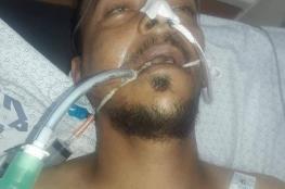 استشهاد الشاب صدام أبو شلاش متأثراً بإصابته خلال مشاركته بمسيرة العودة