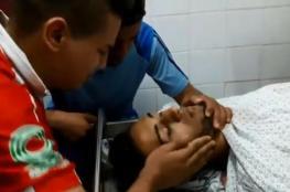 شاهد: وداع مؤثر للشهيد المُسعف عبد الله القططي من أصدقائه