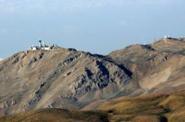 الاحتلال يرصد صاروخا سقط على منطقة مفتوحة في مرتفعات الجولان