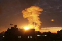 قصف إسرائيلي على غزة بزعم إطلاق صاروخ