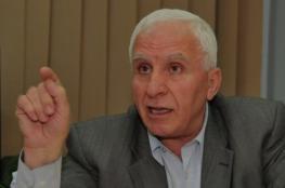 الأحمد: لا جديد بملف المصالحة وننتظر ما سيحمله الوفد الأمني المصري الخميس