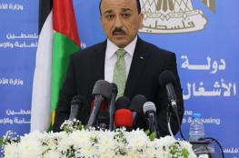 الوزير الحساينة يشكر الكويت الشقيقة على تحويل مبلغ (4.5) مليون دولار لمشاريع البنية التحية ومستشفى الولادة