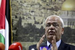 عريقات يطالب العالم بتجسيد استقلال فلسطين على الأرض