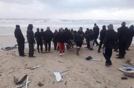 البحث عن مفقود- بحرية غزة تنقذ 6 صيادين مصريين