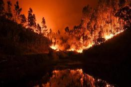 الحرائق تجتاح أمريكيا وتلتهم أكثر من مليون فدان