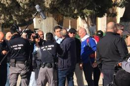 ادعيس يندد باقتحام قائد شرطة الاحتلال للأقصى