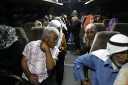 مغادرة 20 من أهالي أسرى غزة لزيارة مُعتقلين في سجن رامون