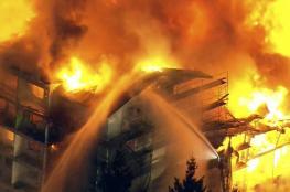حريق هائل في جزيرة إيفيا اليونانية وعمليات إخلاء