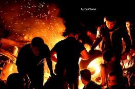 وحدة الارباك الليلي تبدأ فعالياتها شرق قطاع غزة
