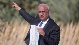 إسماعيل هنية يهاتف الرئيس معزيا بوفاة المناضل الكبير صائب عريقات