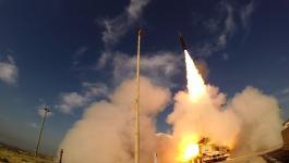 انطلاق الصواريخ من غزة