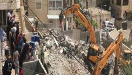 الاحتلال يستولي على مواد بناء في الولجة شمال غرب بيت لحم