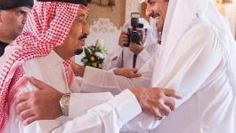 الملك سلمان يوجه دعوة لأمير قطر لزيارة الرياض