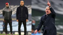 مورينيو يوجه سهامه إلى كلوب وغوارديولا بعد الهزيمة أمام ليفربول