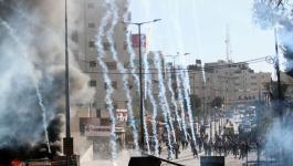 إصابة 4 شبان برصاص الاحتلال خلال مواجهات في مخيم الدهيشة واعتقال آخرين