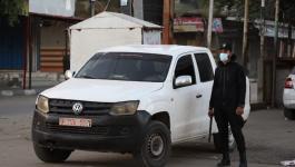 قلقيلية: الشرطة تغلق محلات تجارية وتحرر مخالفات وتحتجز مركبات