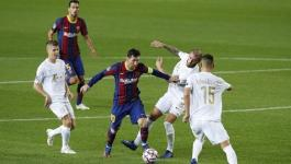 ميسي خارج قائمة برشلونة لمباراة فيرينتسفاروش في دوري الأبطال