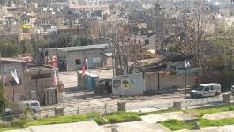 الاحتلال يبدأ عمليات حفر وبناء في محطة الحافلات بالخليل