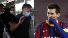 والد ميسي يكشف حقيقة اجتماعه داخل قنصلية قطر في برشلونة