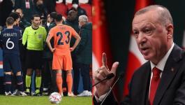 أردوغان يدين العنصرية التي تعرض لها لاعب فريق بلاده