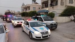القبض على 4 اشخاص اعتدوا على مركبة شرطة في بيت لحم