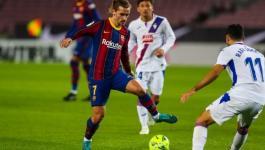 برشلونة يواصل نزيف النقاط ويتعادل على ملعبه