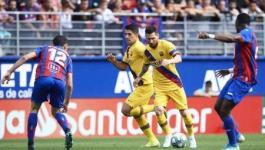 ميسي يغيب عن مران برشلونة قبل نهائي السوبر الإسباني