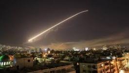 الدفاعات الجوية السورية تتصدى لصواريخ إسرائيلية جنوب البلاد