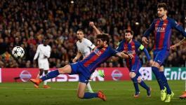 برشلونة يذكر باريس سان جيرمان بالهدف