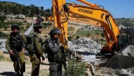 تقرير:السلطات الإسرائيلية هدمت أو صادرت 89 مبنى خلال أسبوعين