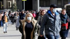 تسجيل أكثر من 400 وفاة و8.7 ألف إصابة جديدة بكورونا في روسيا